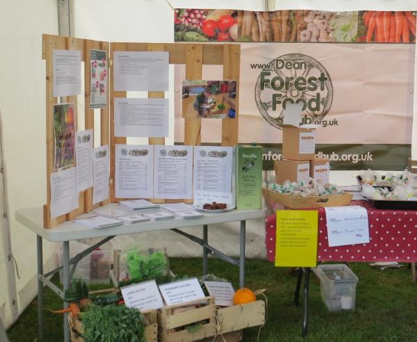 Food Hub stand